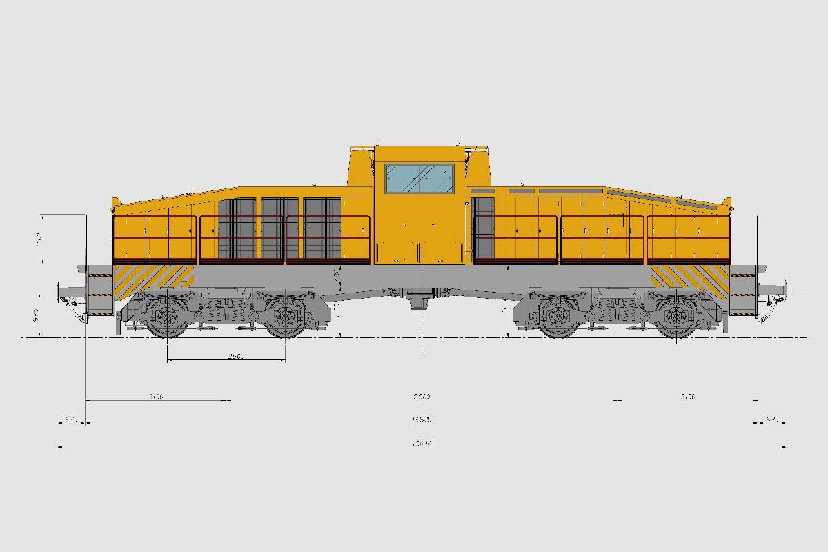 IPE 2001 locomotori