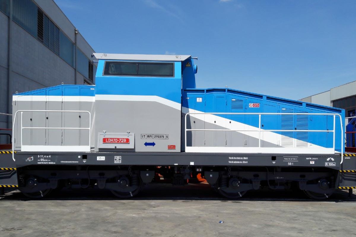 LDH 70 locomotore